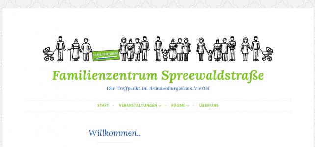 Familienzentrum Spreewaldstraße jetzt im Web