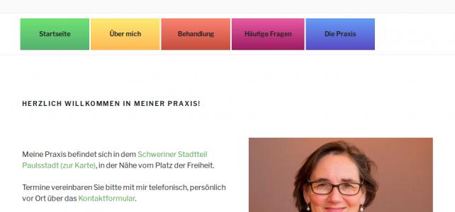 Neue Webseite  Schaefer-Logopädie.de